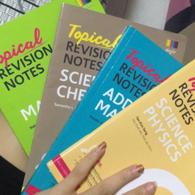 O Level resource revision booklets amaths emaths sci, Books ...