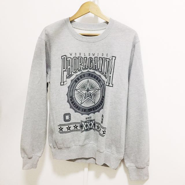 Obey Grey Sweater