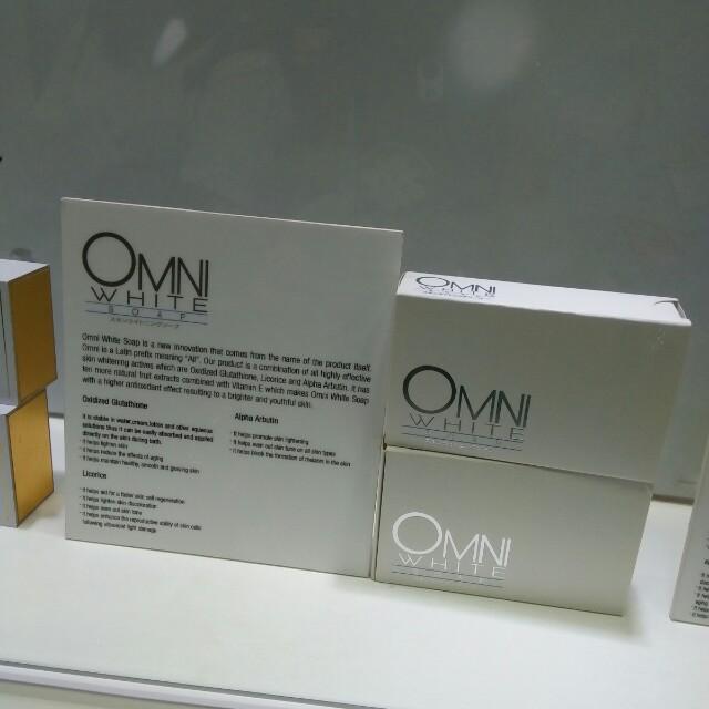 Omni white soap