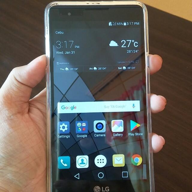 Crazy sale On Hand Lg x5 (f770), Mobile Phones & Tablets