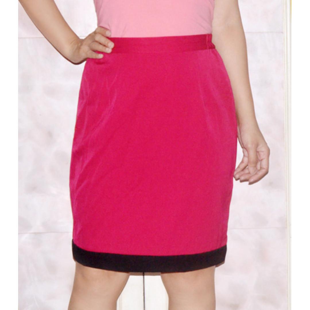 ORCHIDEE Pencil Skirt