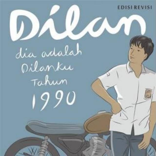 Paket ebook novel Dilan 1990, Dilan 1991 dan Milea