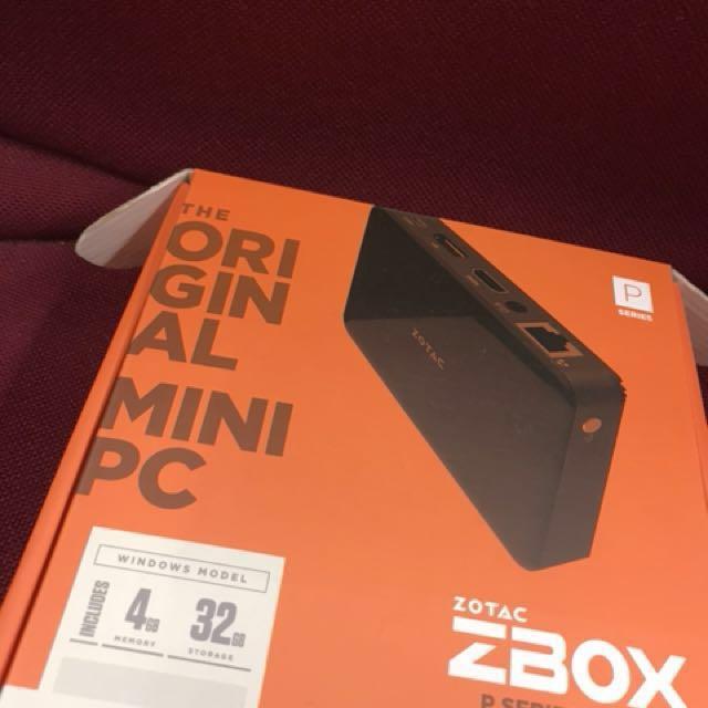 微型電腦/PC/Computer ZOTAC ZBOX P1335 pico