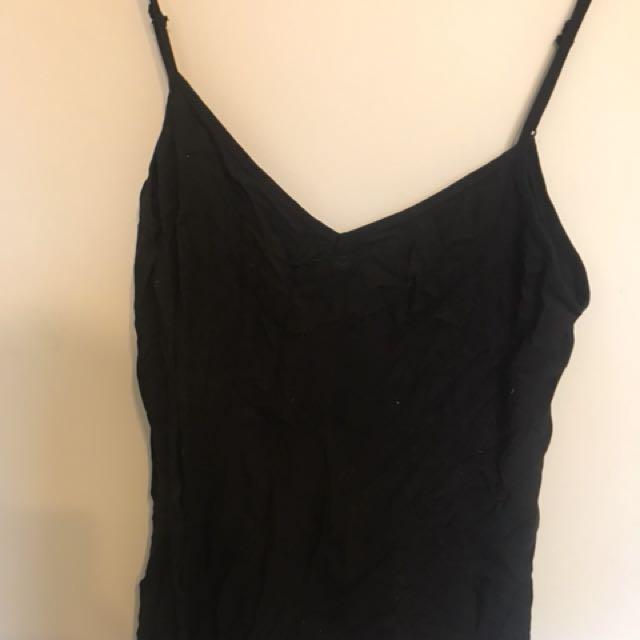Plain black Jumpsuit