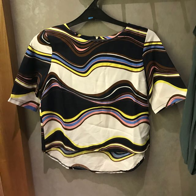 Preloved Abstract Top