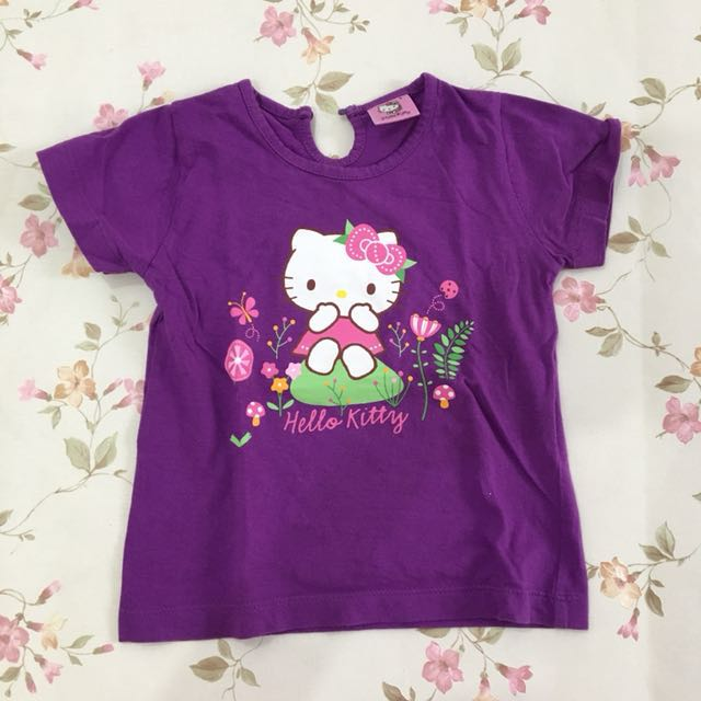 Preloved Purple Hello Kitty Girl Top