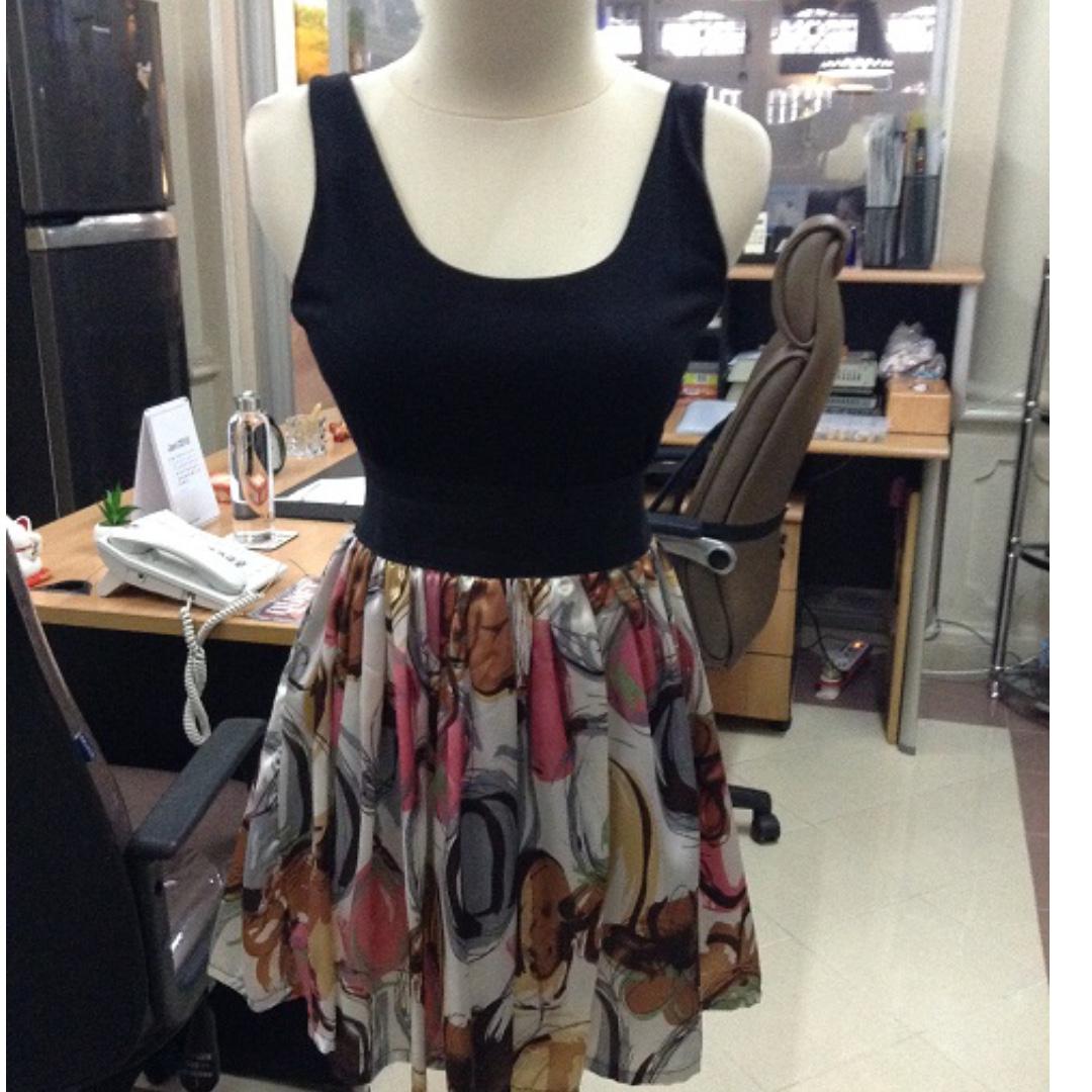 Printed Floral Dress - Flower Dress - Printed Dress