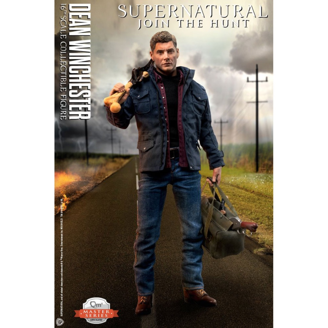 Supernatural Dean Winchester 1:6 Articulated Figure Jensen Ackles CW Collectible