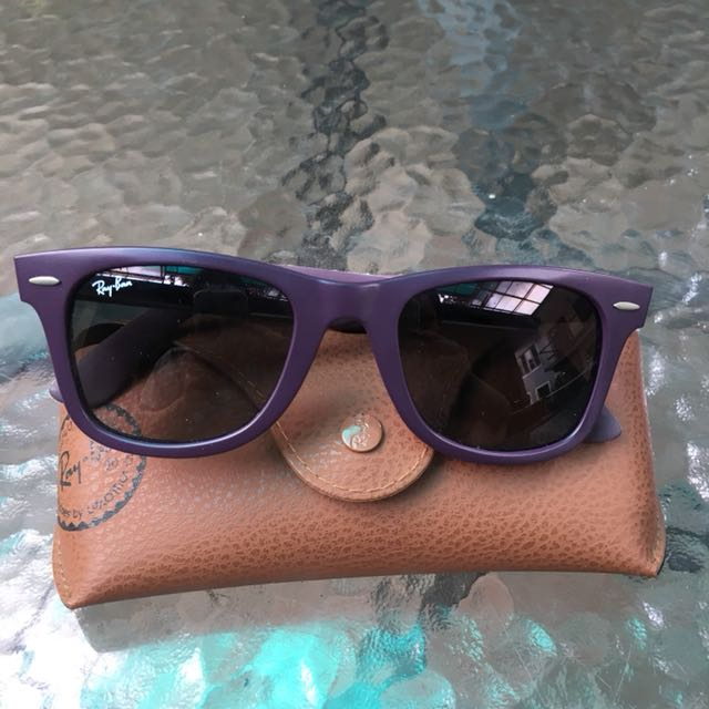 Ray Ban Purple Wayfarers