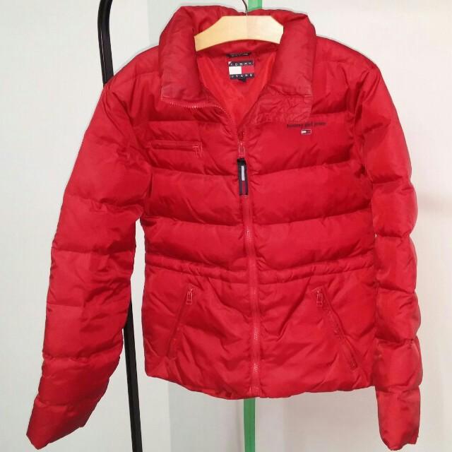 Red Puffer Jacket Medium