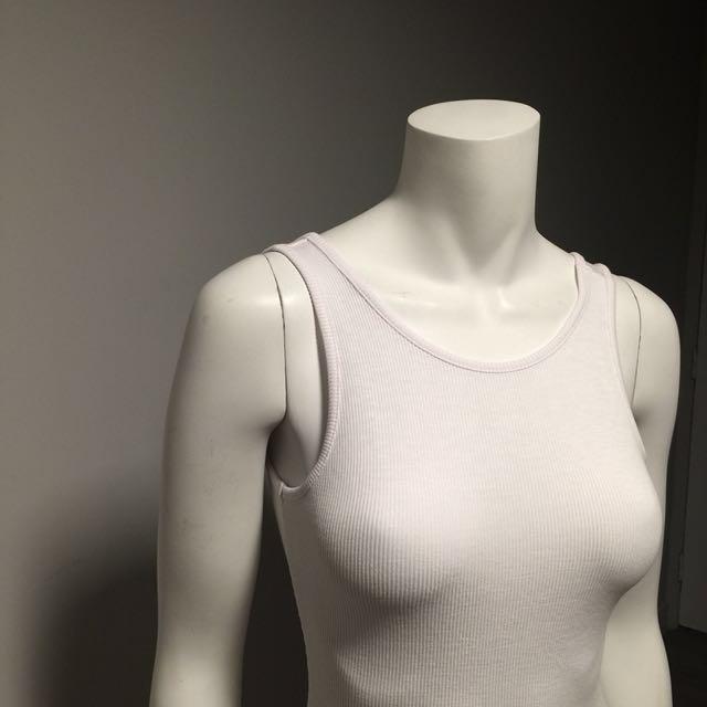 Ribbed Low Back Bodysuit