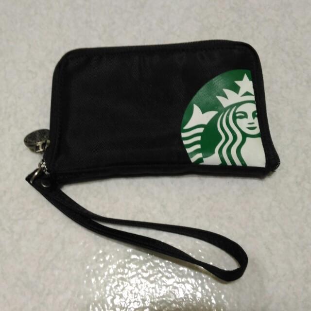 星巴克 starbucks 零錢包 錢包 隨身包 票卡包 收納包  收藏用