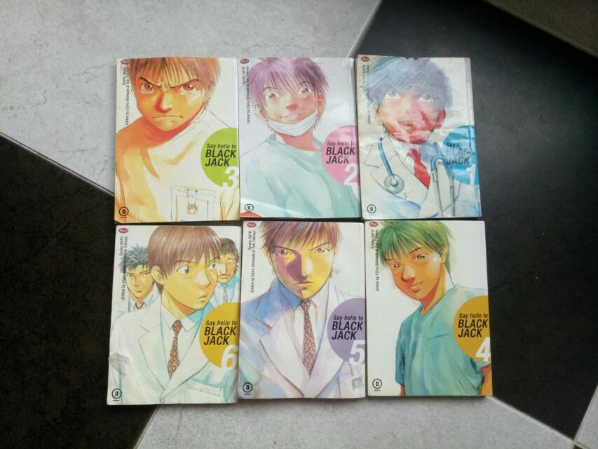 Say Hello to Blackjack manga 1-6