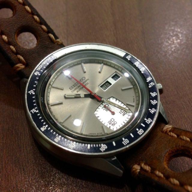 Seiko Vintage Chronograph 6139-6040 Automatic Watch