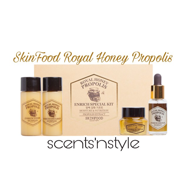 Skinfood Royal Honey Propolis Enrich Set