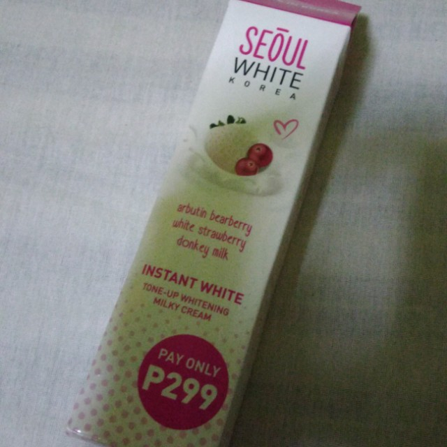 Soul White Korea Whitening Cream
