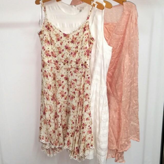 Spring Summer Dresses S/M