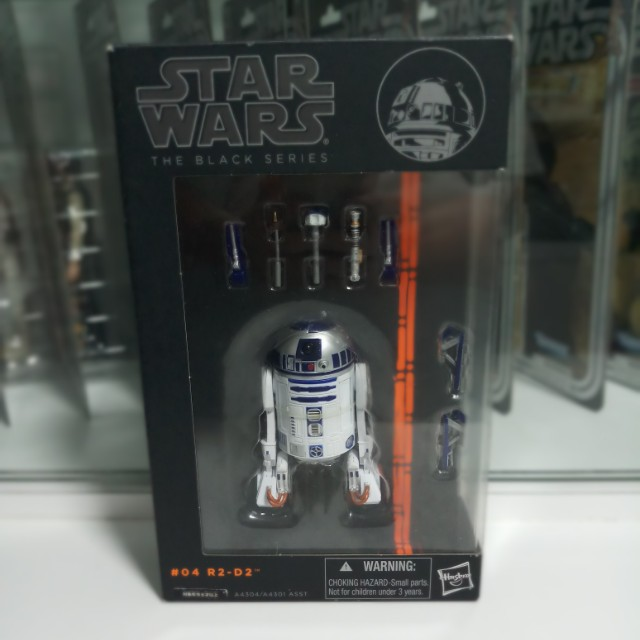 Star Wars The Black Series R2 D2 #04 Japanese Release