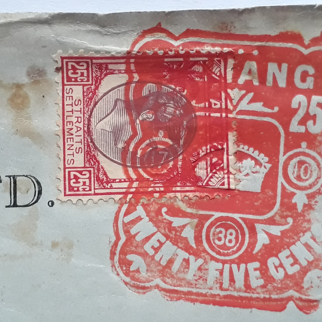 Straits Settlements Penang 1938 Vintage Insurance Renewal Policy Embossed King George In56 Vintage Collectibles Stamps Prints On Carousell