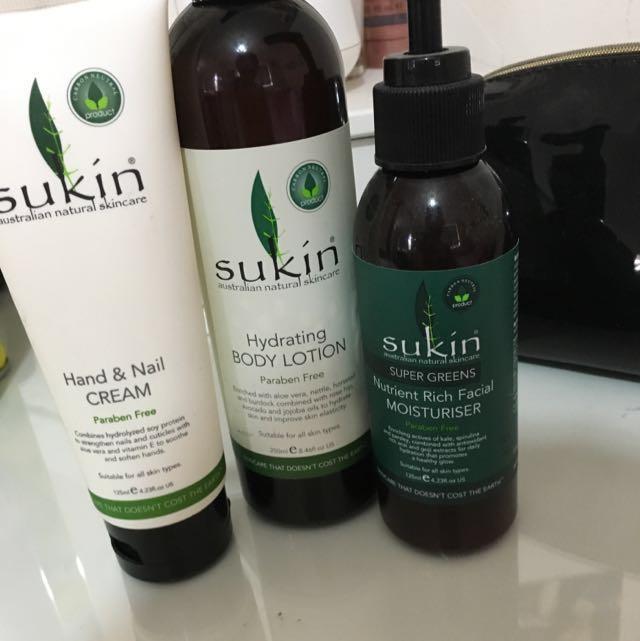 Sukin Beauty Package
