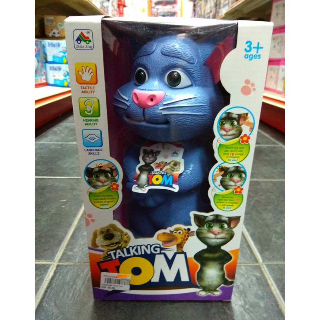 Talking Tom Toys Battery Operated Toys Games Other Toys On Carousell