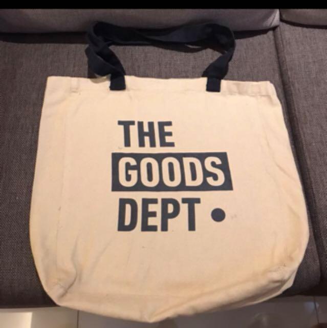 Totebag the goods dept
