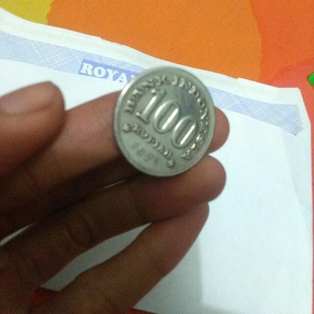 Uang koin Rp100 th 1971
