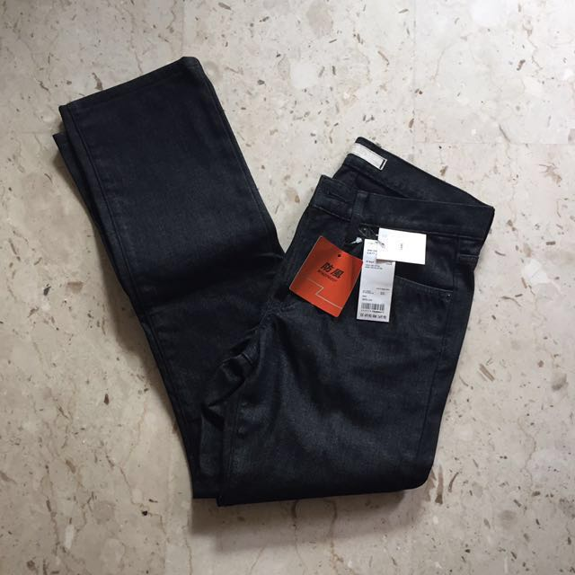 e427712c29ee UNIQLO WINDPROOF Slim Fit Jeans