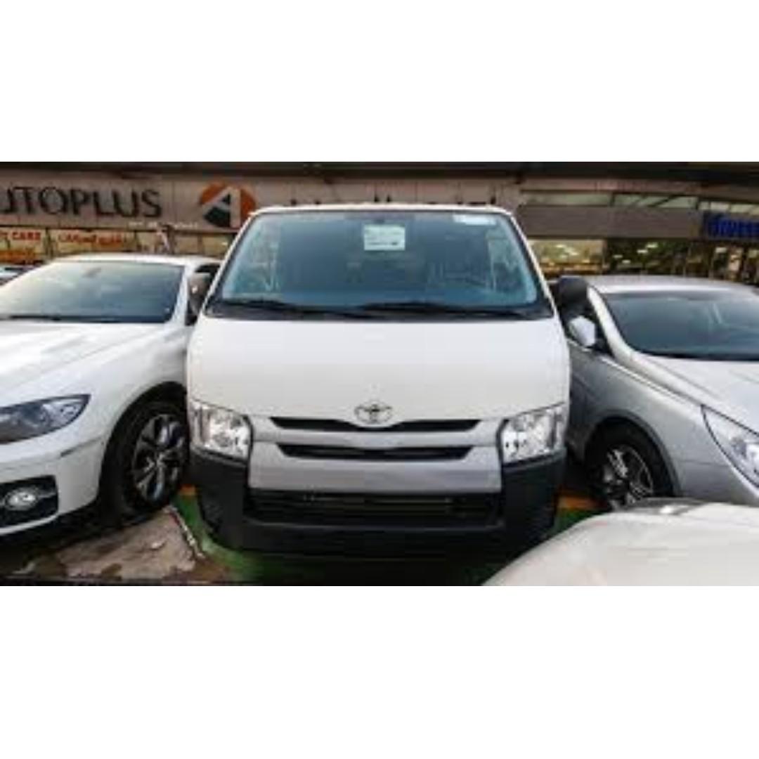 Van for Rent (0975) 1404669 / (02) 398-3533