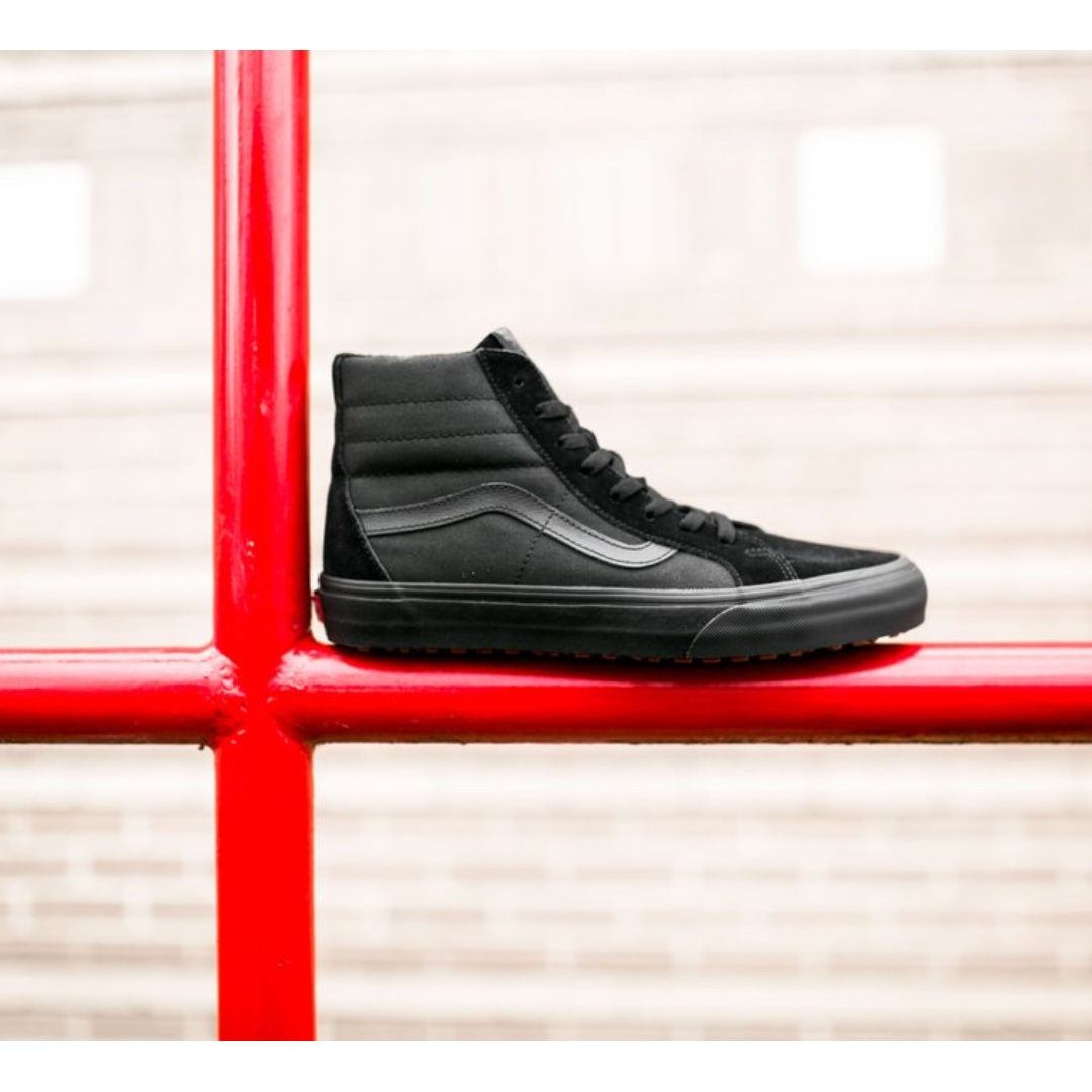 VANS SK8-HI REISSUE UC SHOES – (MADE FOR THE MAKERS) BLACK BLACK ... 49a1424122