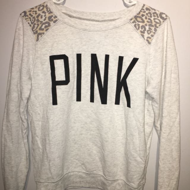 VS PINK crewneck sweater