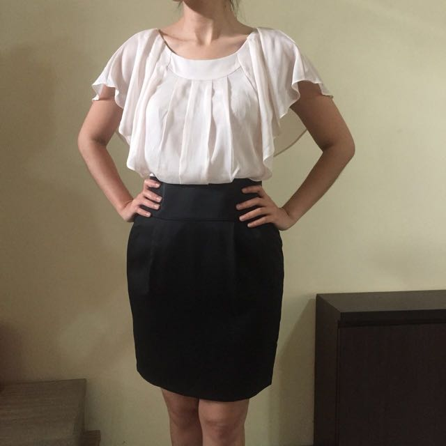 Working outfit Beige/black