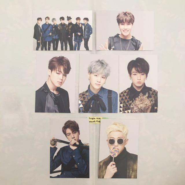 WTT/WTS BTS Epilogue Mini PCS