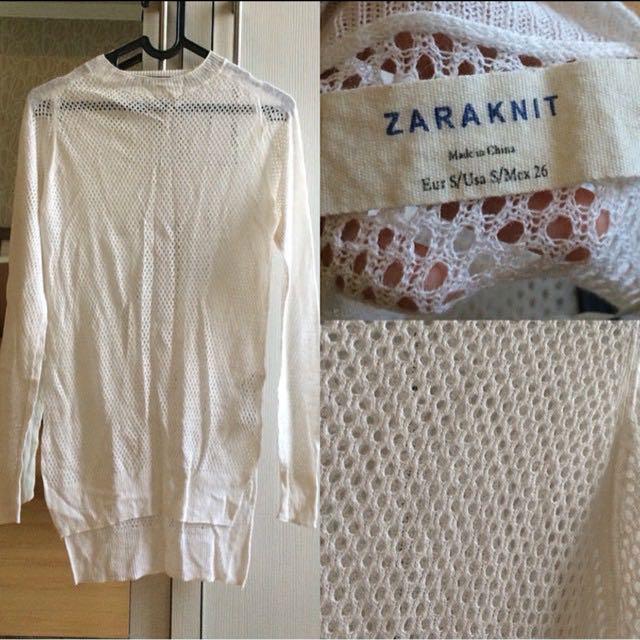 Zara knit outer sweater