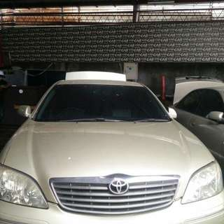 Toyota camry 2002 matic