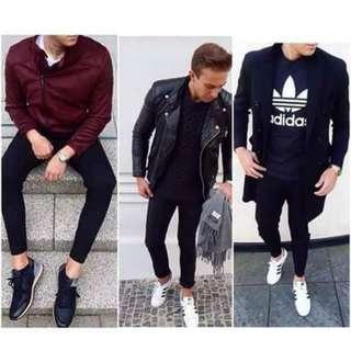 Black pants for men