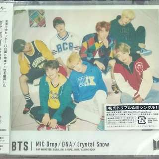 [Clearance] BTS MIC DROP/DNA/Crystal Snow (Version C)