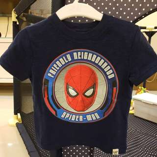 [GENUINE 50% OFF] Baby GAP Marvel Spiderman Graphic T shirt