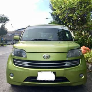 Daihatsu Materia 1.5A for rent