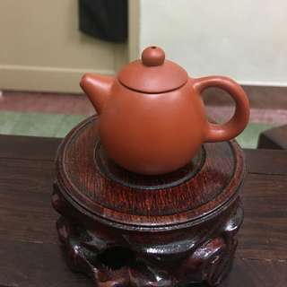 Chinese Purple Clay mini teapot-A