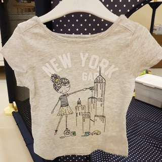[GENUINE 50% OFF] Baby GAP Girl City Graphic T-shirt