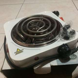 Electric Stove (HOT PLATE) 🔥