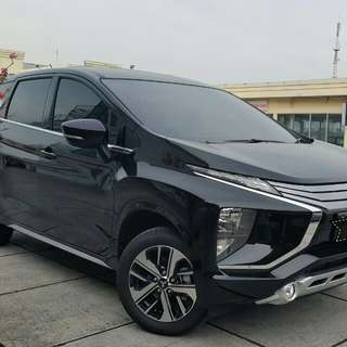 Mitsubishi Xpander 1.5 at 2017 hitam metalik
