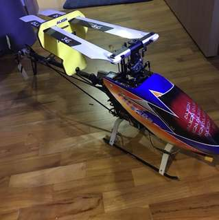 RC helicopter TREX 500