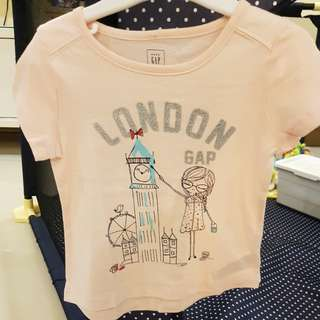 [GENUINE 50% OFF] Baby GAP London City Girl Graphic T-shirt