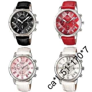 深水步有門市 全新原裝正版正貨有保養有單 Casio 手錶 SHEEN SHN-5010L