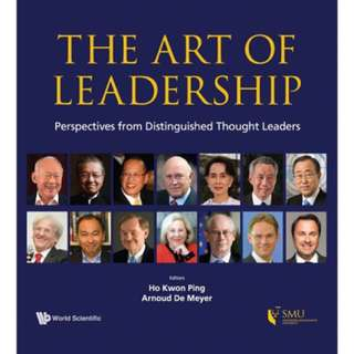 THE ART OF LEADERSHIP(HARDCOVER) BY HO KWON PING AND ARNOUD DE MEYER