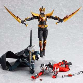 figma kamen rider wrath odin action figure toy