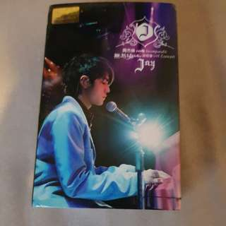 Jay chou 2004 incomparable live concert cassette tape new