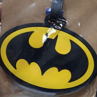 LUGGAGE TAG | BATMAN/CHOPPER